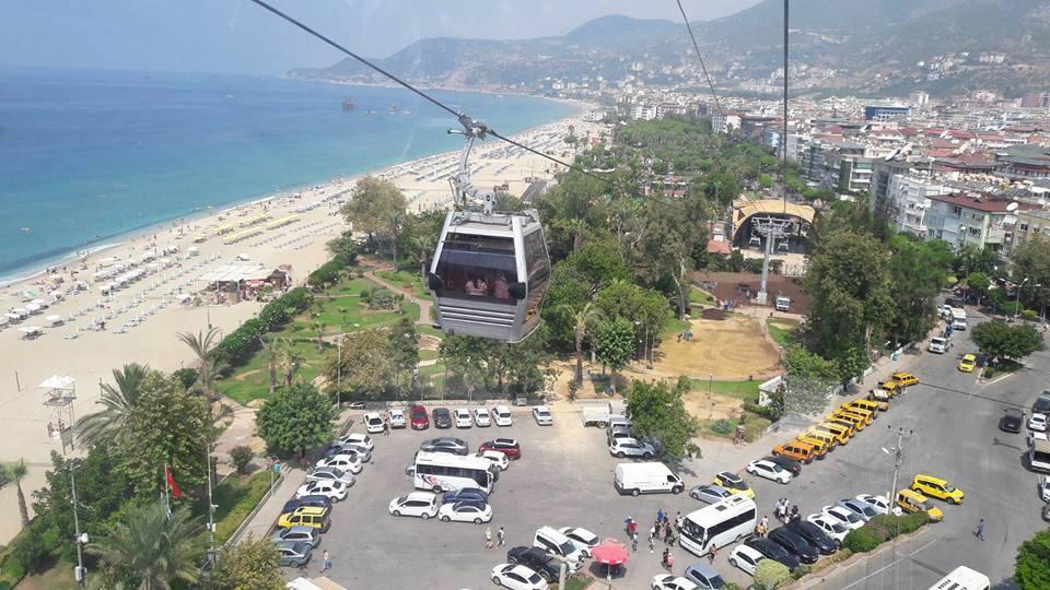 Lanovka v Turecké Alanyi