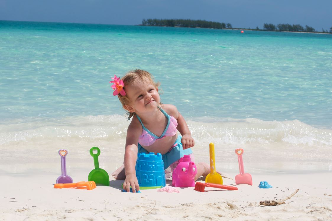 Letní dovolená s dítětem do 2 let