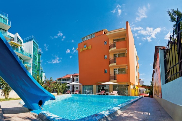 KM TRAVEL Bulharsko hotel Diamond ***