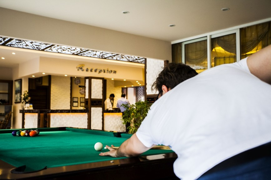 KM TRAVEL, Turecko, Alanya, hotel Kleopatra Beach billiard
