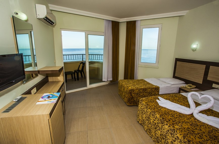 KM TRAVEL, Turecko, Alanya, hotel Kleopatra Beach double room